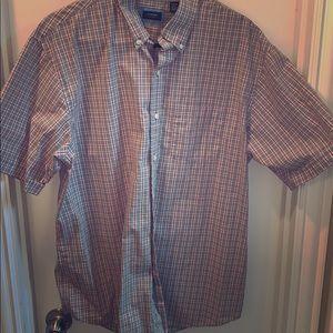 Men's button up collar shirt